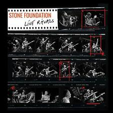 STONE FOUNDATION - LIVE RITUALS [CD+DVD] NEW & SEALED