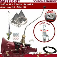 C4 Shifter Kit 23 Swan E Brake Cable Clevis Trim Kit Dipstick For E99CE