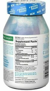 Nature's Bounty Stress Comfort Peaceful Dreams - Blueberry Lavender - 42 count