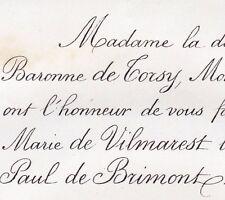 Marie Joséphine Moullart Vilmarest De Torcy Bomy 1861 Paul Ruinart De Brimont