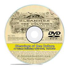 Gleanings of Bee Culture, 44 Volume Honey Beekeeping Magazine, 1873-1916 V58