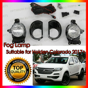 To suit Holden Colorado RG 2017-2020 Fog Lights Lamp Complete Kit WITH FREE BULB