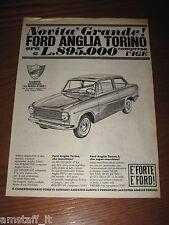 *116=FORD ANGLIA TORINO=ANNI '60=PUBBLICITA'=ADVERTISING=WERBUNG=PUBLICITE=