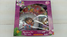 NICKELODEON ZAK DORA THE EXPLORER  KID 3 PIECES DINNERWARE MEALTIME SET L@@K
