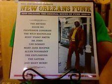 New Orleans Funk 3xLP sealed vinyl Soul Jazz