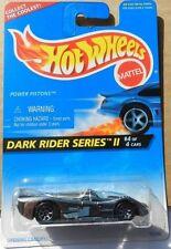 CHROME POWER PISTONS DARK RIDER SERIES II #4 96 1995 HW HOT WHEELS