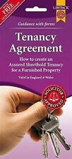 Furnished Tenancy Agreement Form Pack How to Create an  Assured... 9781907765537