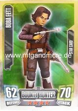 Boba Fett #212 Star - Force Attax Serie 2