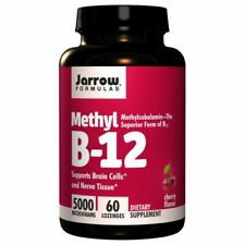 Methyl B-12 60 lozenges 5000 mcg by Jarrow Formulas