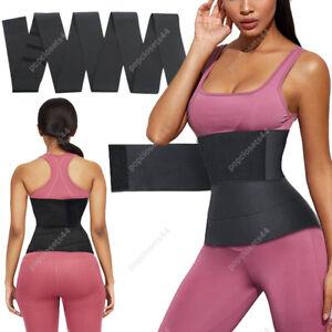Snatch Me Up Wrap Bandage Waist Trimmer Tummy Wrap Belt Women Belly Body Shaper