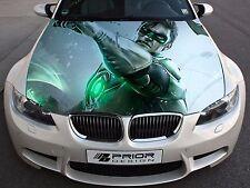 Vinyl Car Hood Full Color Graphics Decal Green Lantern Sticker