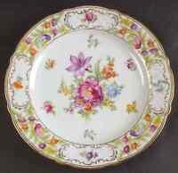 Schumann Bavaria EMPRESS DRESDEN FLOWERS Dinner Plate 5979326