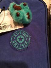 Kipling Kay Pen Pencil Case Sailor Blu Turquoise