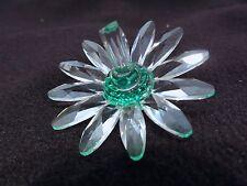 Swarovski Crystal Green Daisy - Beautiful & Perfect