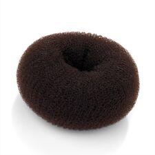Brown Donut Hair Ring Bun Shaper Medium 9cm