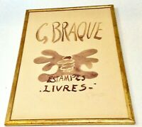 Georges Braque Signed Numbered Original Exhibition Poster