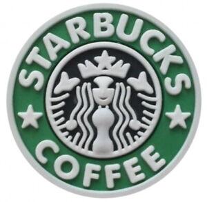 Green Starbucks Coffee Enamel 20mm Snap Charm For Ginger Snaps Magnolia