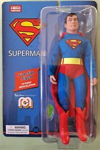 "NEW MEGO SUPERMAN DC COMICS 8"" Action Figure Super Hero In Stock"