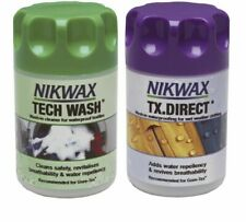 Nikwax Tech Wash/TX Direct Clean and Proof - 2 Pack