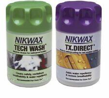 Nikwax Tech Laver/Tx Direct propre et la preuve-Pack de 2