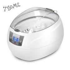 Ultrasonic Cleaner, 750ml Jewelry Cleaner Machine 42KHz Jewellery Washer