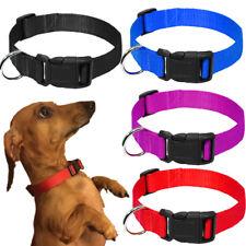 20 PCS Lot Bundle XL L M S Nylon Dog Collars Pet Collar Neck Adjustable Buckle