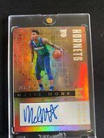 Panini Essentials Malik Monk Rookie Auto 05/99 Hornets