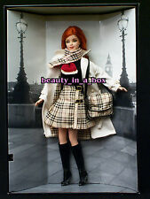 Burberry Barbie Doll Burberry of London Classic Signature Plaid Skirt Raincoat ""