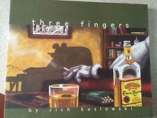 Three Fingers Paperback by Rich Koslowski oversized Tpb tp