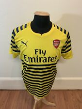 Beautiful PUMA DRY CELL Arsenal FC Fly Emirates Replica Jersey- Size Large