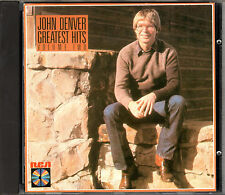 JOHN DENVER greatest hits volume 2 CD 1985 FIRST EU PRESS with CD MADE in JAPAN
