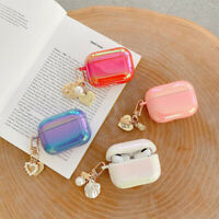 For AirPods Pro / AirPods 1 2 Case Cute Cover Butterfly Pendant Glitter