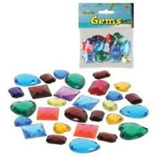 Plastic Gems Crafting Treasure Birthday Girls Party Prop Decorations