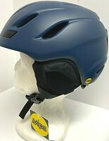 $120 GIro Nine Mips Helmet Sz S 52 -55.5 cm Ski Snowboard Dark Blue Unisex