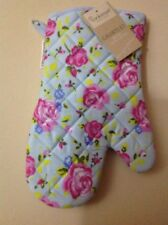 NEW COOKSMART SINGLE OVEN GLOVES MITT 100% COTTON FLORAL  KITCHEN COOKING