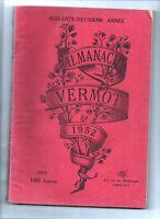 ALMANACH VERMOT 1952 - Bel état, complet 208 pages
