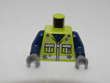 Lego Torso Zipper Jacket with 2 Pockets, Reflective Stripes and Star Shaped  #97