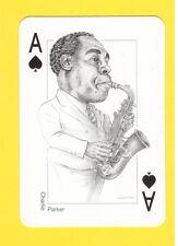 Charlie Parker Sax Saxophone Jazz Blues Music Spanish Playing Card