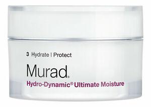 Murad Hydro-Dynamic Ultimate Moisture 1.7 oz. Facial Moisturizer (in box )New!