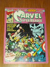 MIGHTY WORLD OF MARVEL SUPERHEROES #373 1981 MAY BRITISH MONTHLY AVENGERS THANOS