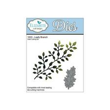 Elizabeth Craft Designs Cutting Die Set  LEAFY BRANCH Greenery, Leaves EC 1033