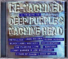 RE-MACHINED A TRIBUTE TO DEEP PURPLE´S machine head CD NEU OVP