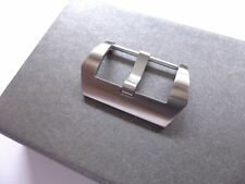 24mm BRUSHED buckle for your Panerai - SWISS MADE - EU shipping