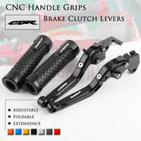 Brake Clutch Levers with Handle Grip for Honda CBR650F CB650F CBR650R/A 14-19