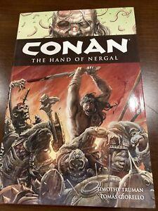 DARK HORSE CONAN THE BARBARIAN Vol. 6 The Hand of Nergal HARDCOVER GRAPHIC NOVEL