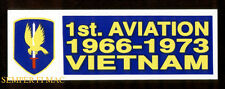 1ST AVIATION BRIGADE VIETNAM US ARMY BUMPER STICKER ZAP DECAL HELICOPTER HELO