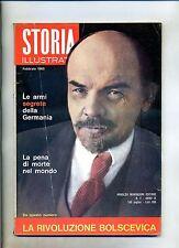 STORIA ILLUSTRATA#FEBBRAIO 1965 N.87#ARMI SEGR. GERMANIA#PENA DI MORTE#Mondadori