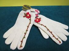 Rare Hand Fashioned Elliot 100% Wool Gloves Size Med Made in Japan ~ Nwt