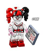 LEGO THE BATMAN MOVIE  MINIFIGURA  `` NURSE HARLEY QUINN ´´   Ref 71017   LEGO