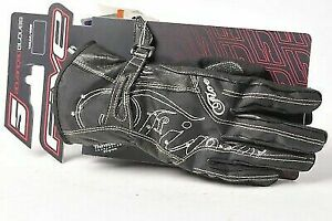 FIVE WFX2 Woman Black Ladies Motorcycle Gloves Size X-Large **CLEARANCE PRICE**